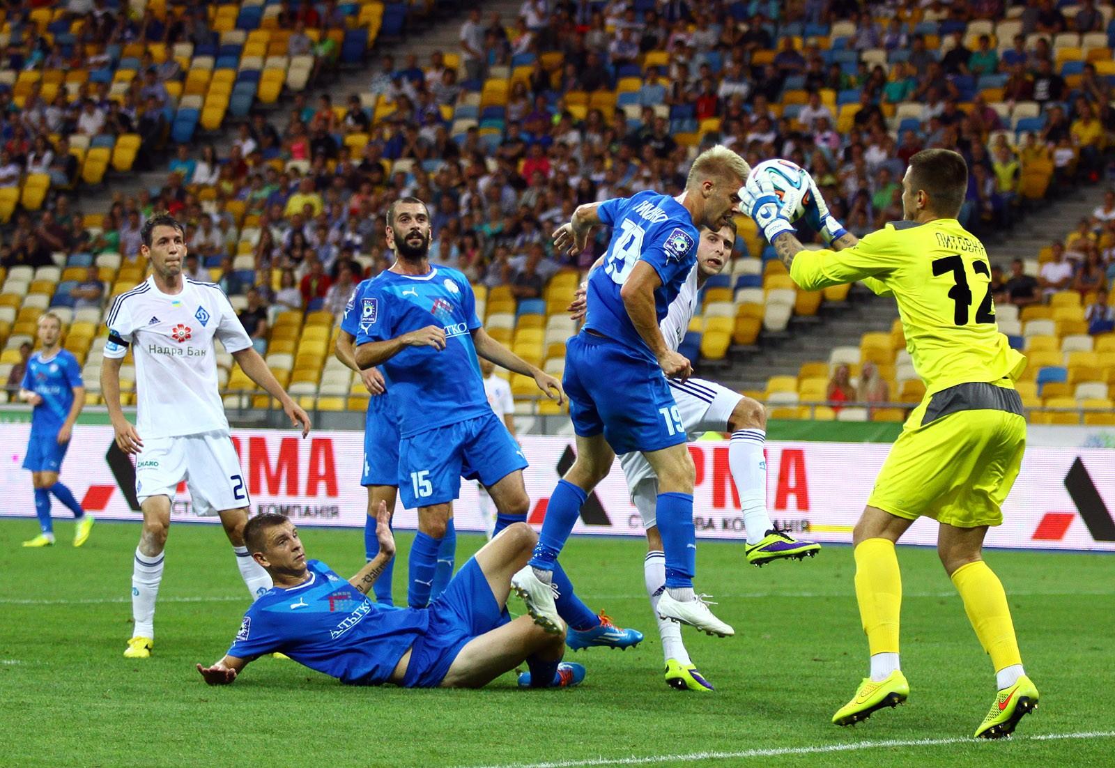 Отставки небудет: «Динамо» разгромило «Олимпик»