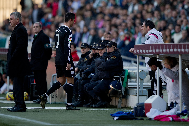 Роналду дисквалифицировали на два матча - изображение 1