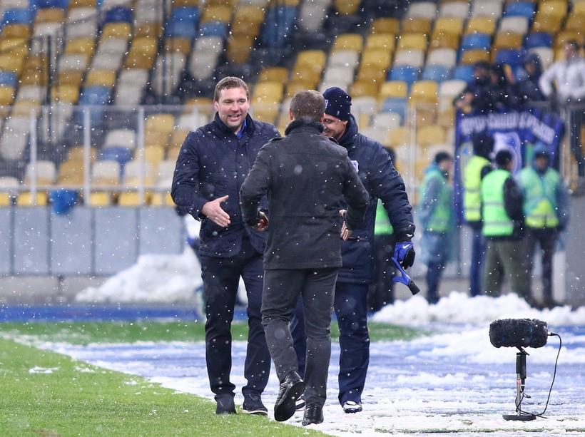 Лига Пари-Матч. Динамо - Черноморец 2:1. Механическая монотонность под первым снегом - изображение 8