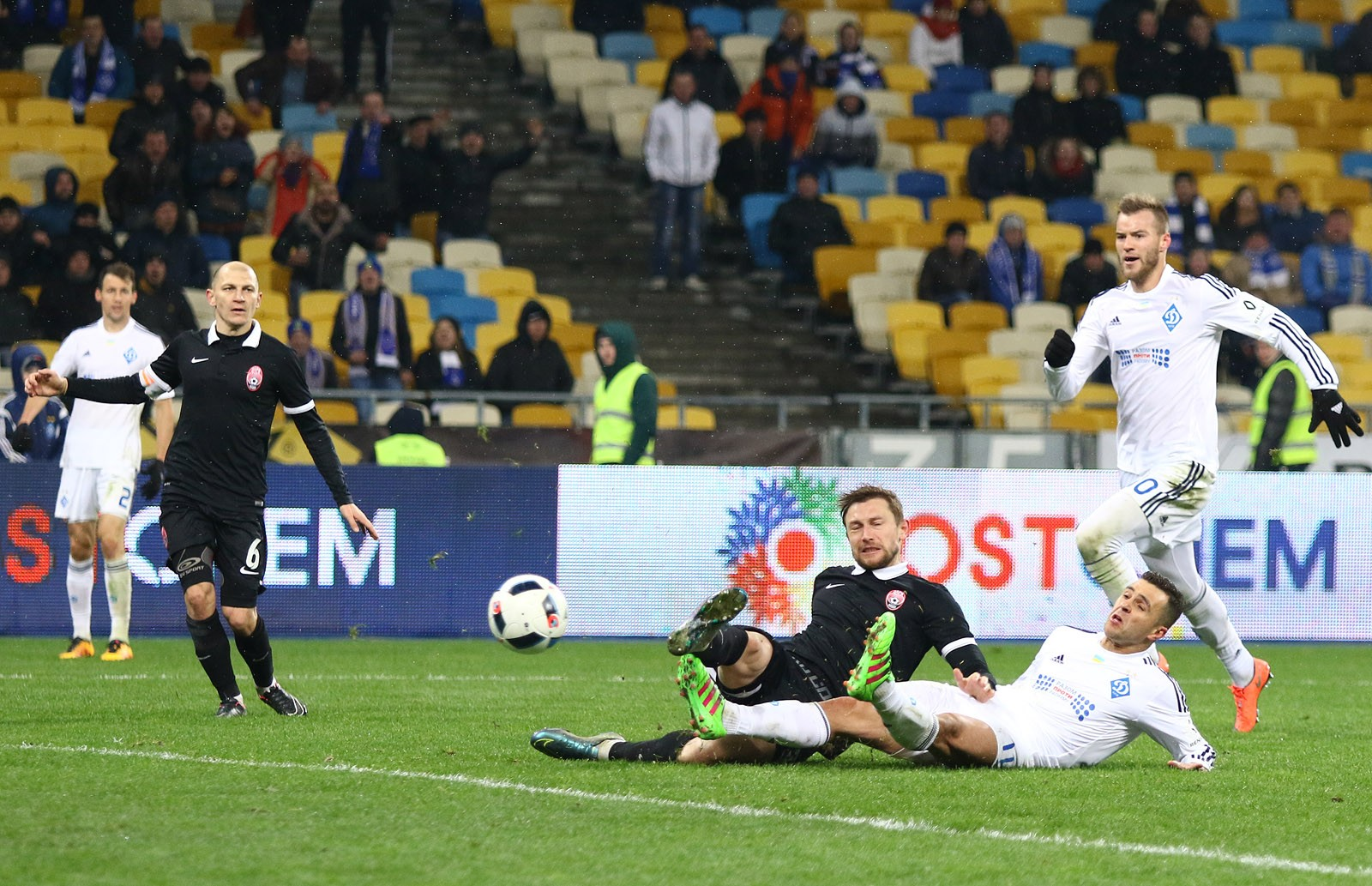 Динамо проиграло Заре иопустилось на 3-е место вчемпионате