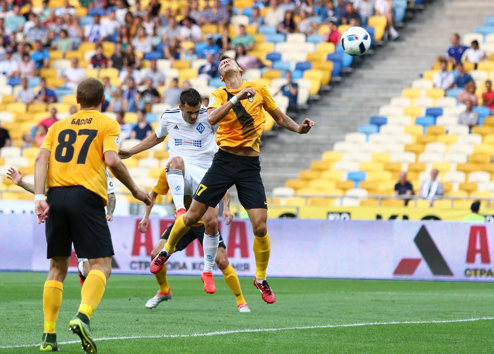 «Динамо» не сумело обыграть «Александрию» в12 туре чемпионата Украинского государства