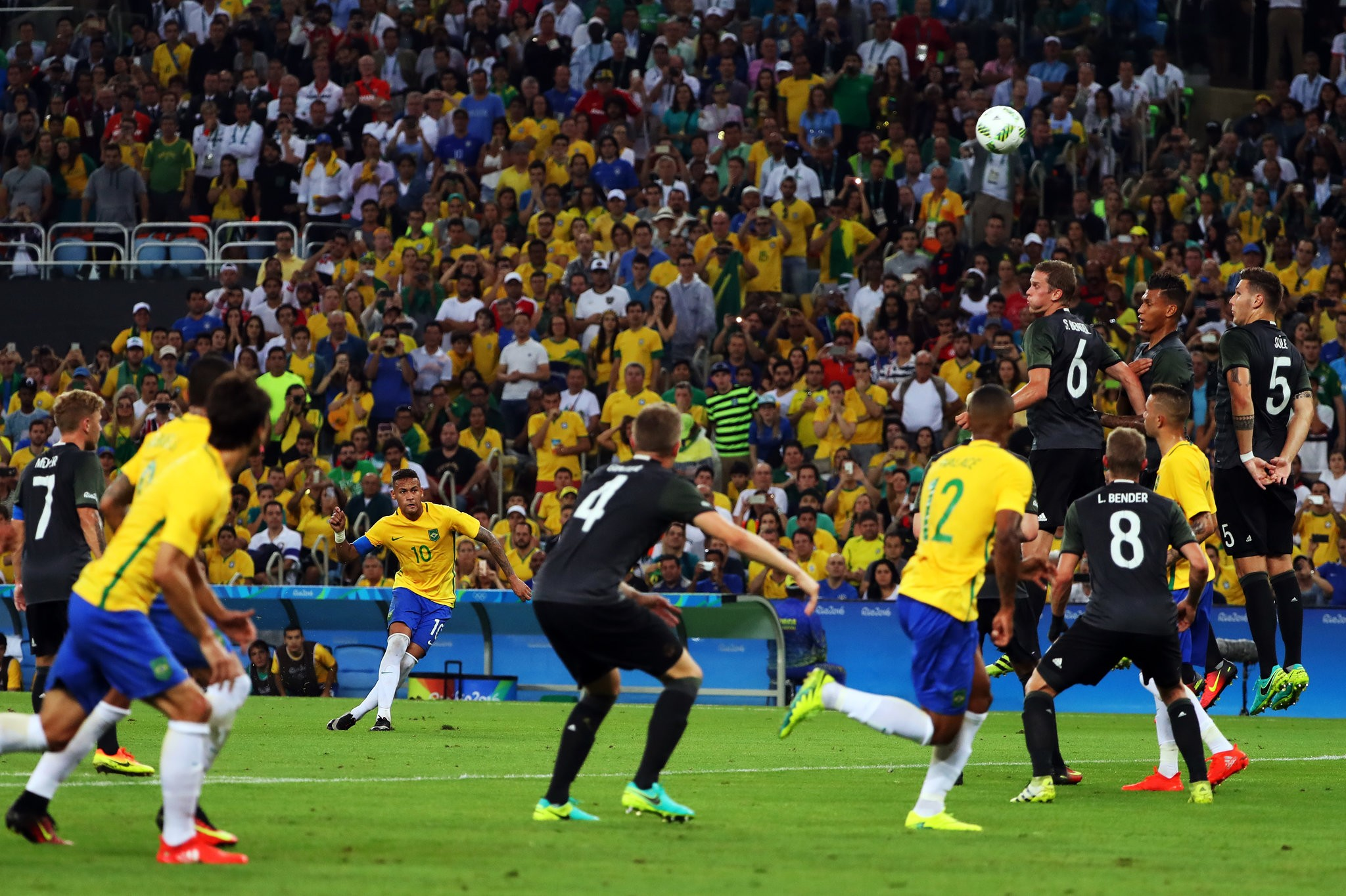 Олимпиада-2016. Финал. Бразилия – Германия – 1:1, пен. 5:4. Линекер наконец ошибся - изображение 2