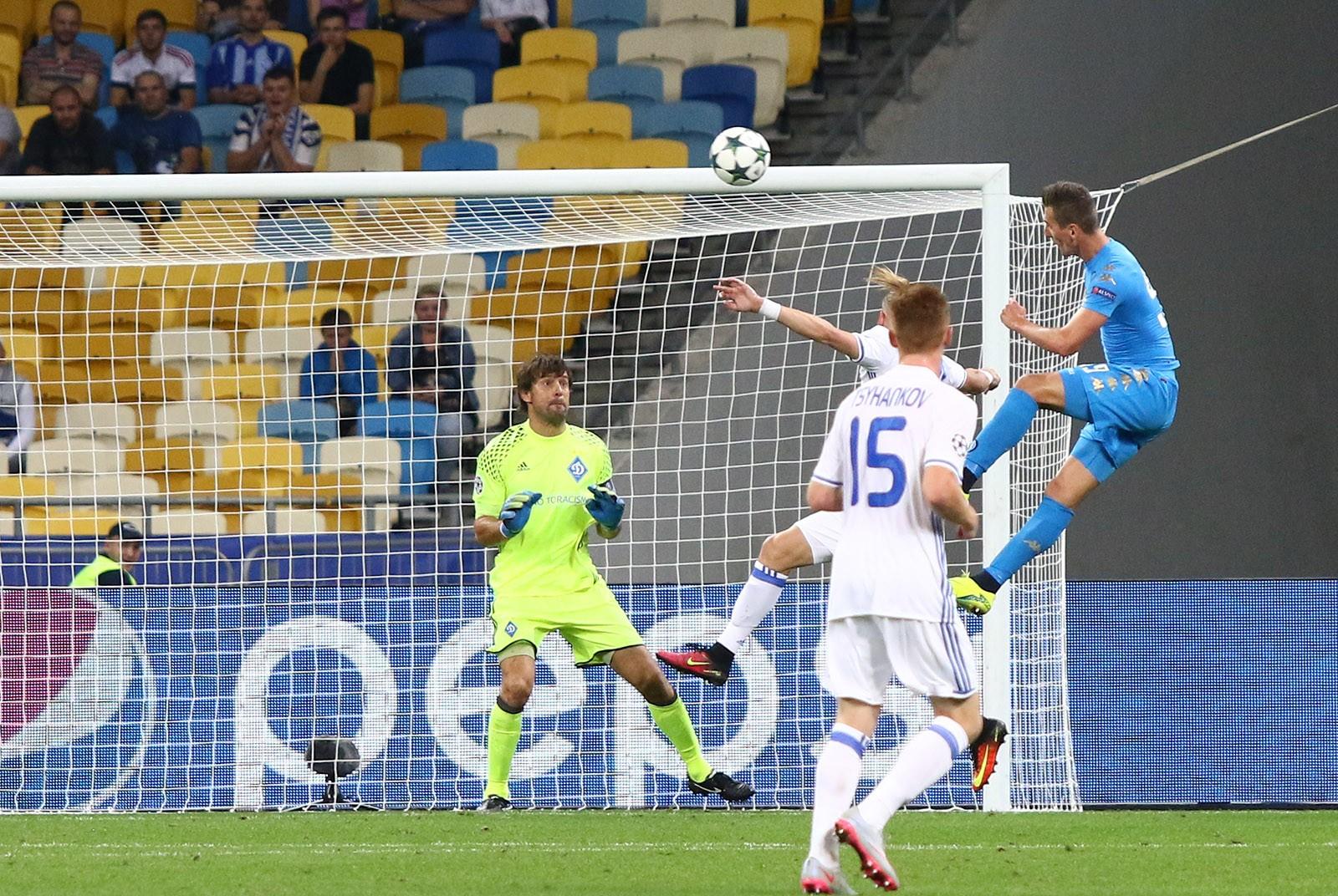 Динамо З второй раз в истории ЛЧ финиширует в группе без очков