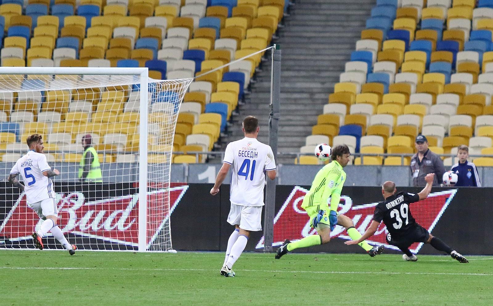 «Динамо» и«Шахтер» вышли в ¼ финала Кубка Украины пофутболу
