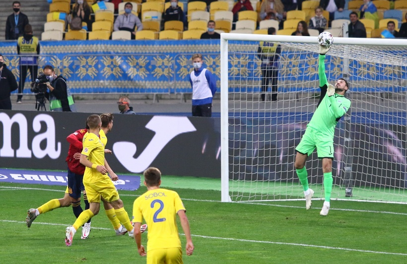 Лига наций. Украина - Испания 1:0. Привет от Цыникова - изображение 1