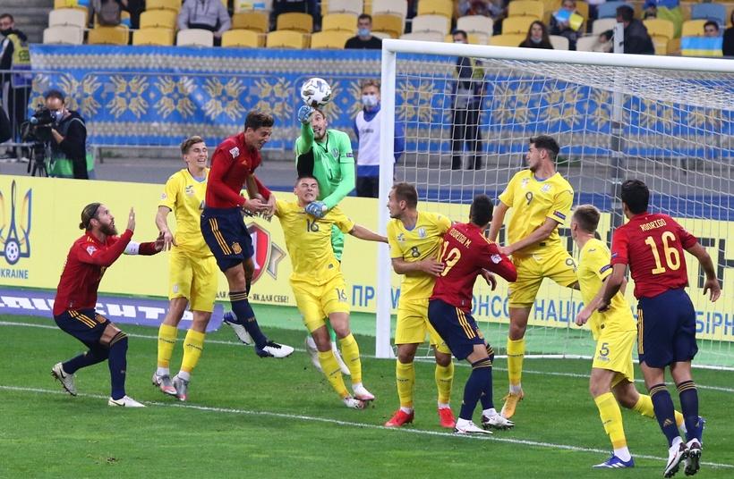 Лига наций. Украина - Испания 1:0. Привет от Цыникова - изображение 2