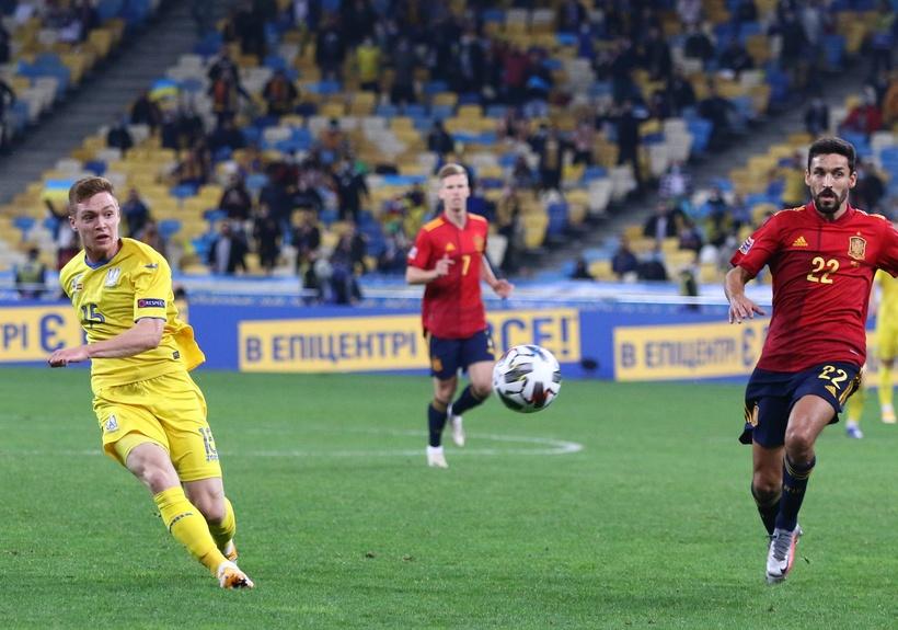 Лига наций. Украина - Испания 1:0. Привет от Цыникова - изображение 4